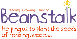Beanstalk - Reading, Growing, Thriving logo
