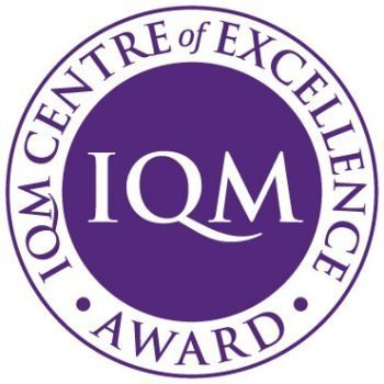 I Q M Centre of Excellence Award logo